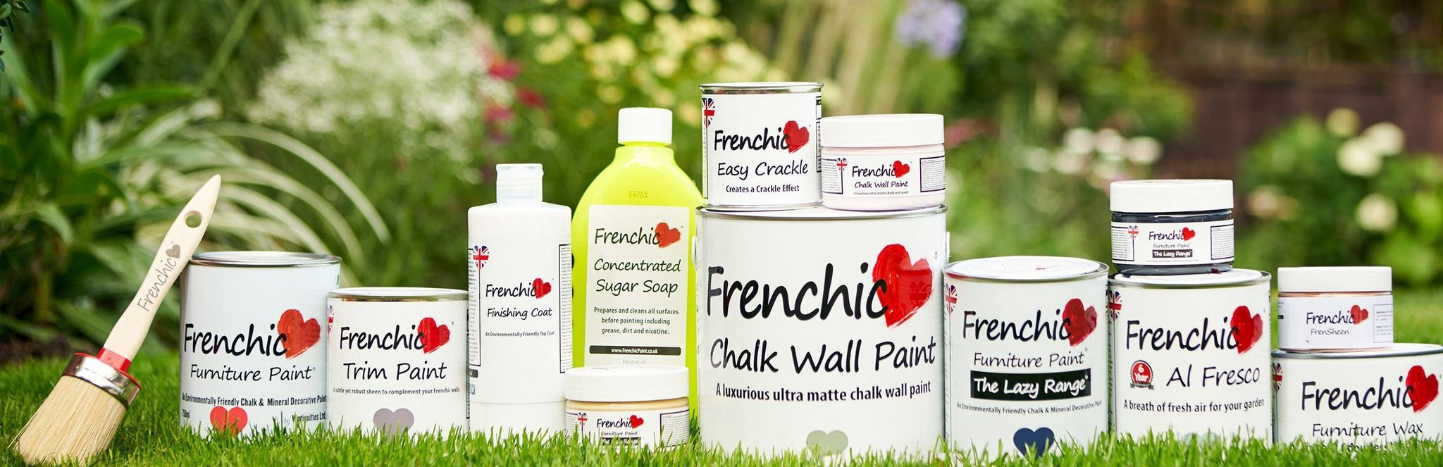 WELCOME - ENVIRONMENTALLY FRIENDLY CHALK & MINERAL PAINT